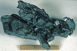 Arizpe Municipality - Acanthite from a silver mine in Arizpe municipio