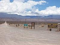 Acceso al Parque Nacional El Leoncito.jpg