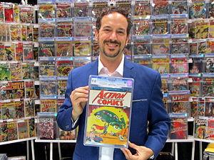 Action Comics 1 - Image: Action comics 1 cgc 9 point 0 vincent zurzolo