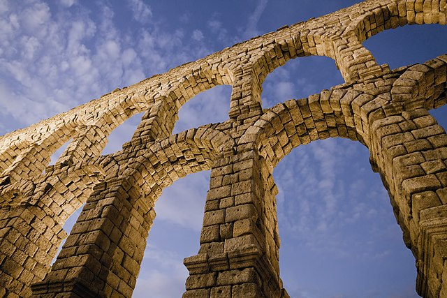 2nd place: Aqueduct of Segovia