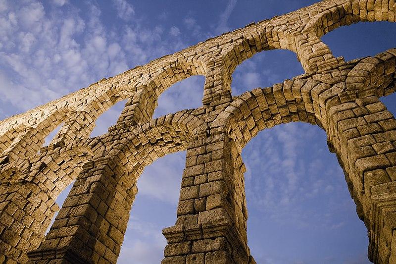 Acueducto de Segovia, España