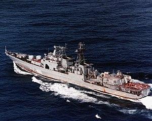 БПК «Адмирал Спиридонов», 6 марта 1986 года