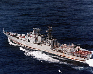 Russian destroyer <i>Admiral Spiridonov</i>
