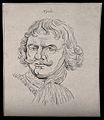 Admiral Hyde; portrait. Drawing, c. 1794. Wellcome V0009244ER.jpg