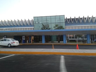 Acapulco International Airport - Airport Terminal building.