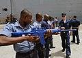 Africa Partnership Station West civil disturbance training class, Sekondi, Ghana, March 15, 2010.jpg