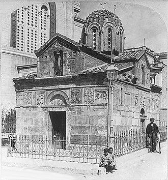 Little Metropolis - Image: Agios Eleftherios athens 1901