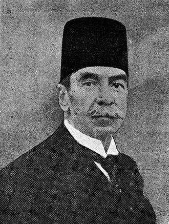 Ahmed Taymour - Image: Ahmed Taymour Pasha (1871 1930)