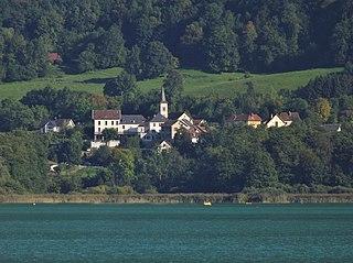 Aiguebelette-le-Lac Commune in Auvergne-Rhône-Alpes, France