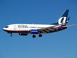 A Boeing 737 aircraft in service with AirTran. From file. Image: Cubbie_n_Vegas.