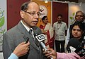 Ajit Kumar Seth briefing the media after inaugurating the 4th National Level Exhibition and Project Competitions (NLEPC), under INSPIRE programme of Mo Science & Technology, in New Delhi on October 06, 2014.jpg