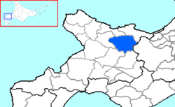 Akaigawa in Shiribeshi Subprefecture.png