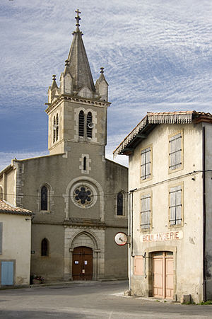 Alaigne - Image: Alaigne village