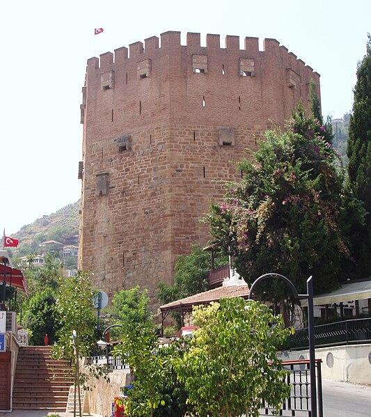 Datei:Alanya Der Rote Turm 27.jpg