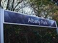 Albany Park stn signage.JPG