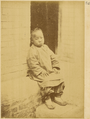 Albazin Child. Albazin Prisoners of War Professed the Orthodox Religion but Adopted Chinese Language and Customs after Captured by Manchurians in 1685. Beijing, 1874 WDL1942.png