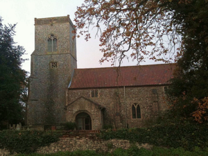 Alby with Thwaite - Image: Alby Church