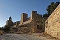 Alcazaba, muralla suroeste, desde la calle San Salvador, 01.jpg