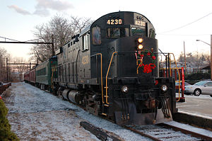 West Chester Railroad - Image: Alco c 424 4230