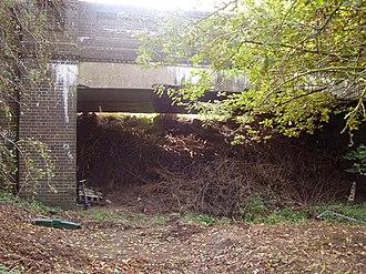Aldeby railway station - Remains of Aldeby station in 2007
