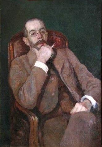 Aleksandr Shervashidze - Aleksandr Shervashidze, a portrait by Vladimir Rossinsky, 1913.
