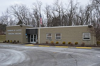 Aleppo Township, Allegheny County, Pennsylvania - Township hall