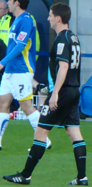 Alex Bruce (footballer, born 1984) - Bruce playing for Leicester City in 2010