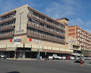 Kroonstad - Alex Fairweather corner in the CBD