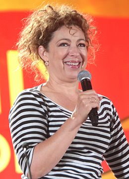 Alex Kingston vuonna 2016.