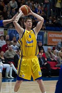 Aleksey Savrasenko basketball player