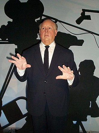 Film director - Wax figure of Alfred Hitchcock, Hitchcock was nominated five times for the Academy Award for Best Director and is considered to be one of the greatest film directors of all time.