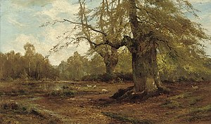 Burnham Beeches - Alfred de Bréanski Burnham Beeches