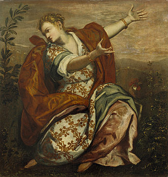 Alertness - Domenico Tintoretto, Allegory of Vigilance