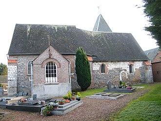 Allenay - The church in Allenay
