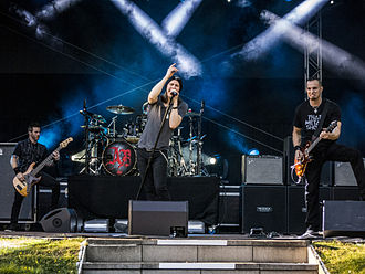 Alter Bridge - The band returned with Fortress in 2013, which was followed by a European tour and festival dates.