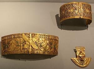 Kandake - Jewellery of Kandake Amanishakheto, from her tomb