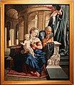 Ambito di jan van scorel o maarten van hemskerk, sacra famiglia, 1525-50 ca.jpg