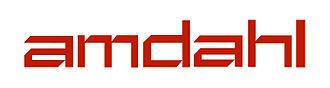 Amdahl Corporation - Amdahl Corporation's logo, January 1976