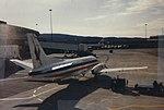 American Eagle Saab and United 737 @ SFO (32556877792).jpg