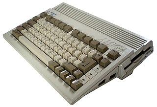Amiga 600 home computer