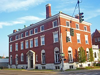 National Register of Historic Places listings in Poughkeepsie, New York - Image: Amrita Club