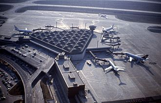 Istanbul Atatürk Airport - The current domestic terminal in the 1980s