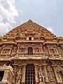 Ancient Thanjavur Brihadeeswarar Temple tower photos.jpg