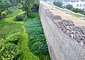 Ancient city wall ruin near southeast gate of city wall in Beijing, China - panoramio.jpg