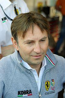 Andrea Montermini Italian racing driver