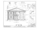 Andrew Burns House, 859 South Main Street, Geneva, Ontario County, NY HABS NY,35-GEN,3- (sheet 3 of 12).png