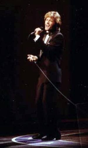 Andy Gibb - Gibb performing at Ford's Theatre Gala, 1981