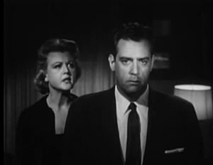 Please Murder Me - Angela Lansbury and Raymond Burr