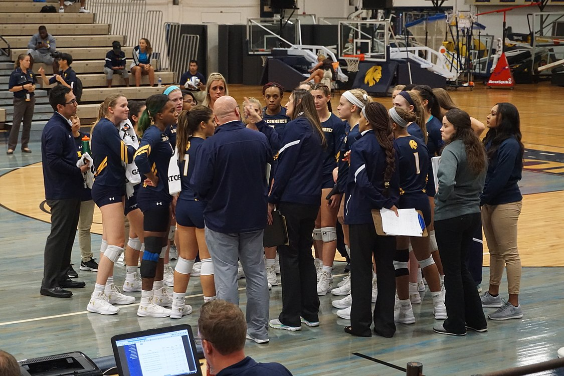 Angelo State vs. Texas A&M–Commerce volleyball 2017 07.jpg