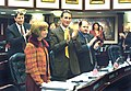 Anna Holliday Benson receives a standing ovation from colleagues on the House floor.jpg